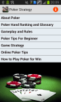 Poker Strategy and Tricks screenshot 1/3