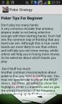 Poker Strategy and Tricks screenshot 3/3