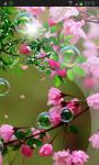 Pink Sakura Flow Bubbles HD screenshot 2/3