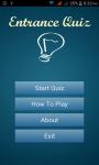 Entrance Quiz screenshot 1/4