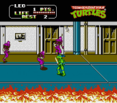 Teenage Mutant Ninja Turtles 2  The Arcade Game screenshot 1/4