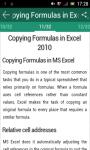 MS Excel 2010 tutorial screenshot 2/3