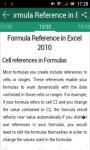 MS Excel 2010 tutorial screenshot 3/3