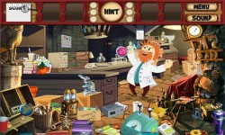 Free Hidden Object Games - Strange Thief screenshot 3/4