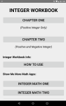 Integer Workbook screenshot 1/5