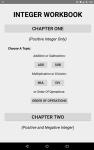 Integer Workbook screenshot 2/5