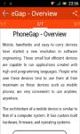 Learn PhoneGap screenshot 2/3