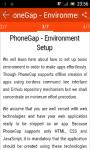 Learn PhoneGap screenshot 3/3