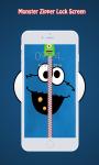 Panda Zipper Lock Screen screenshot 1/6