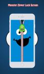 Panda Zipper Lock Screen screenshot 3/6