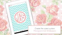 Monogram It Custom Wallpapers complete set screenshot 6/6