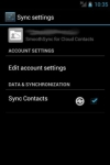 SmoothSync for Cloud Contacts special screenshot 5/6