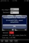 BusArrTime screenshot 1/1