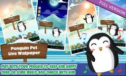 Penguin Pet live Wallpaper Free screenshot 5/6