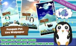 Penguin Pet live Wallpaper Free screenshot 6/6