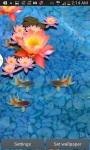 Goldfish Swim 3D Aquarium LWP screenshot 1/3