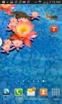 Goldfish Swim 3D Aquarium LWP screenshot 2/3