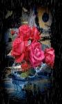 Roses In Rain Live Wallpaper screenshot 1/3