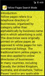Yellow pages Searchmode screenshot 4/4