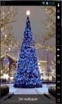Blue Christmas Tree 2014 Live Wallpaper screenshot 1/2