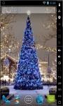 Blue Christmas Tree 2014 Live Wallpaper screenshot 2/2