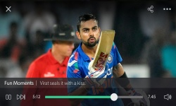 Hotstar live TV movies cricket screenshot 4/5