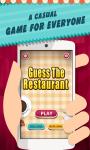 Guess The Restaurant Logo Quiz screenshot 1/3