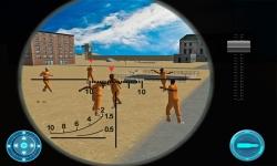 Russia Sniper:Jail Counter War screenshot 2/3