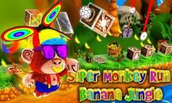 Super Monkey Run Banana Jungle screenshot 1/6