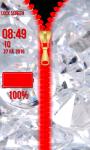 Diamond Zipper Lock Screen Best screenshot 6/6