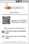 monitorBee video surveillance on mobile screenshot 3/5