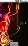Burning DJ Music Live Wallpaper screenshot 3/5