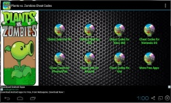 Plants vs Zombies Cheat Codes 2014 screenshot 1/3