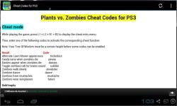 Plants vs Zombies Cheat Codes 2014 screenshot 3/3
