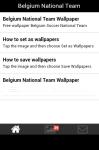 Belgium Soccer Team Wallpaper screenshot 2/5