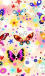 Cute Butterfly Live Wallpaper by Lvdou screenshot 3/3