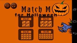 Match M for halloween screenshot 1/6