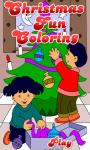 Coloring Christmas Fun screenshot 2/4