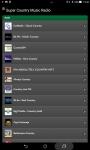 Super Country Music Radio screenshot 1/5