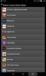 Super Country Music Radio screenshot 2/5