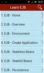 Learn EJB v2 screenshot 1/3