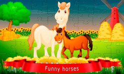 Puzzles about horses screenshot 1/6