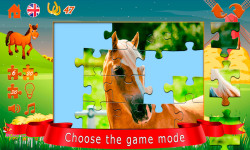 Puzzles about horses screenshot 3/6