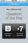 The Official SAT Question of the Day screenshot 1/1