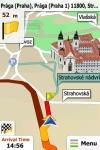 Navigation for the Czech Republic and Slovakia - iGO My Way 2010 screenshot 1/1