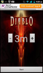 Diablo 3 Save Game Timer screenshot 1/2