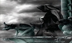 Reaper In Rain Live Wallpaper screenshot 2/3