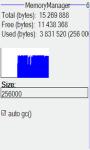 Memory file manager screenshot 2/4