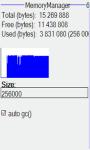 Memory file manager screenshot 4/4