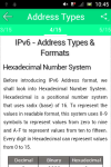 Learn IPv6 v2 screenshot 3/3